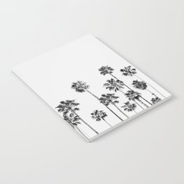 Black And White Palms 2 Notebook