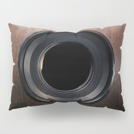 Professional Photography Lens closeup Pillow Sham