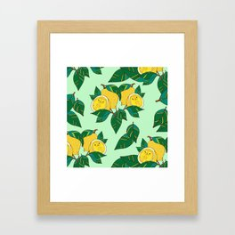 Sourpuss Pattern Framed Art Print