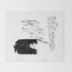 the ocean Throw Blanket