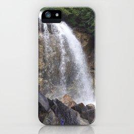 White Pass Waterfall iPhone Case