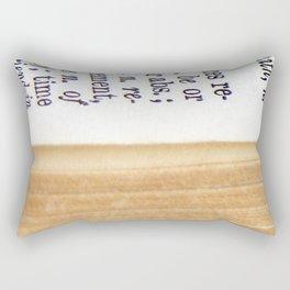 Vintage Dictionary Rectangular Pillow