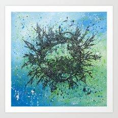 the planet shades Art Print