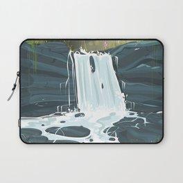 Amazon waterfall vintage poster Laptop Sleeve