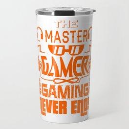 Gaming Master Online Gamer Video Game Fan Gift Idea Travel Mug