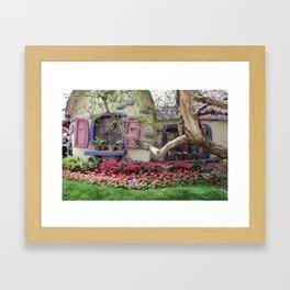 All about Minnie Framed Art Print