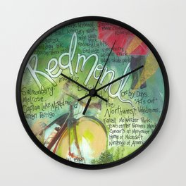 Redmond, Washington Wall Clock