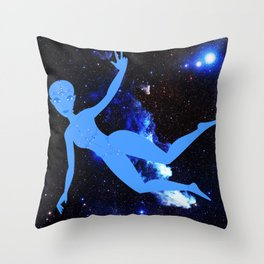 Peace E.T. Throw Pillow
