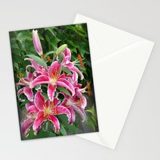 Star Lilies Stationery Cards