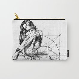Samael Lilith and the Golden ratio Carry-All Pouch