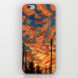 Street Meets Sky  iPhone Skin