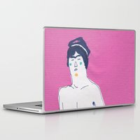 pilot Laptop & iPad Skins featuring pilot by Maybe Mary