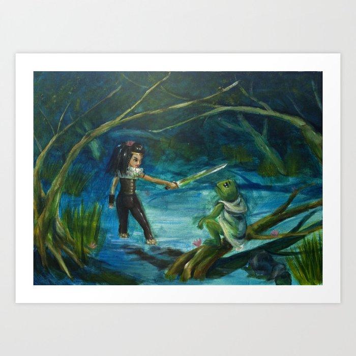 The Marsh Kings Daughter Art Print