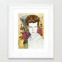 jake Framed Art Prints featuring Jake by Rose Ellen Swenson