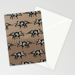 ChocoPaleo: Triceratops Stationery Cards