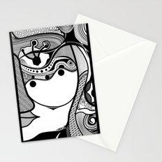 Warmi face Stationery Cards