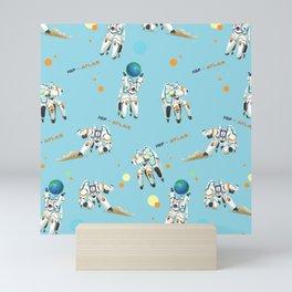 Hold the Earth Mini Art Print