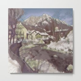 Austrian Winter II Metal Print