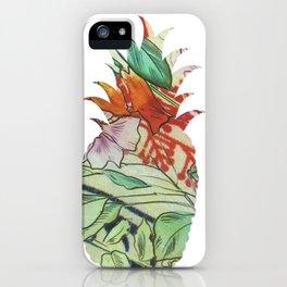 Pineapple fabric iPhone Case