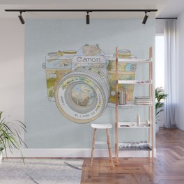 TRAVEL CAN0N Wall Mural