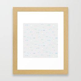 Polar Bear Hunting Framed Art Print