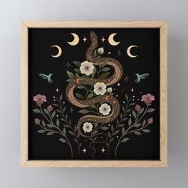 Serpent Spell Framed Mini Art Print