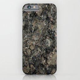 Grunge Organic Texture Print iPhone Case
