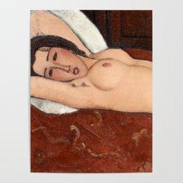 "Amedeo Modigliani ""Reclining Nude"" Poster"