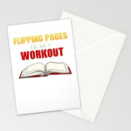 Reading Books Stationery Cards