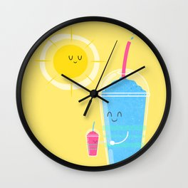 Cool Treat to Beat the Heat Wall Clock