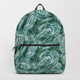 Marble Texture Backpack