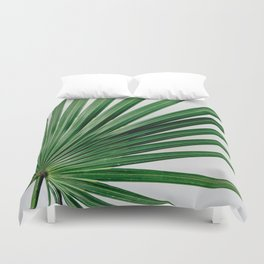 Palm Leaf Detail Duvet Cover