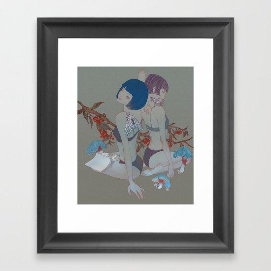 Garden #2 Framed Art Print