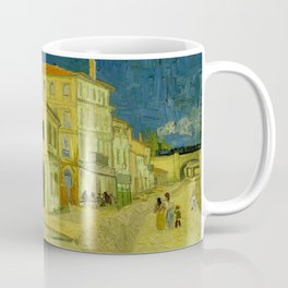 Vincent Van Gogh - The Yellow House Coffee Mug