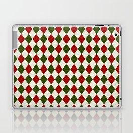 Christmas Argyle Laptop & iPad Skin