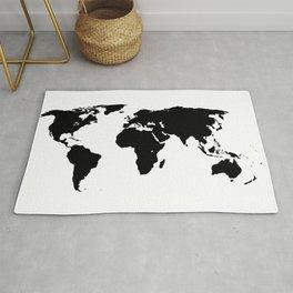 World Outline Rug