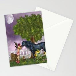 The Last Black Unicorn Stationery Cards