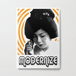 Modernize Metal Print