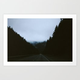 Somewhere in Oregon Art Print