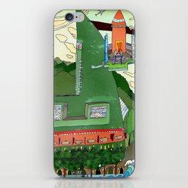 Futuristic Airport iPhone Skin