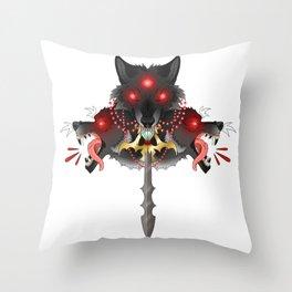 The Three Swordsman Throw Pillow