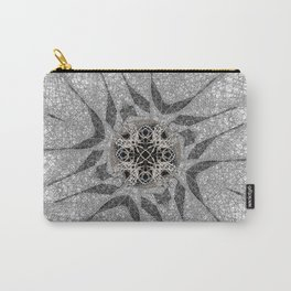 Chaotic Lines Carry-All Pouch