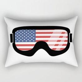 USA Goggles | Goggle Designs | DopeyArt Rectangular Pillow