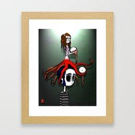 IRENE OCTOPUS Framed Art Print