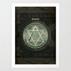 One Dollar Conspiracy Art Print