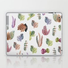 tropical leaves color Laptop & iPad Skin