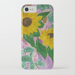 Heavenly Sunflowers by Asys Stoimenova iPhone Case