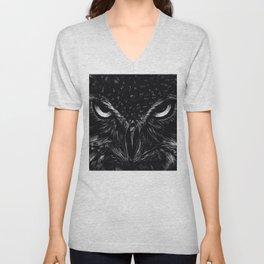 Owl Eyes Unisex V-Neck