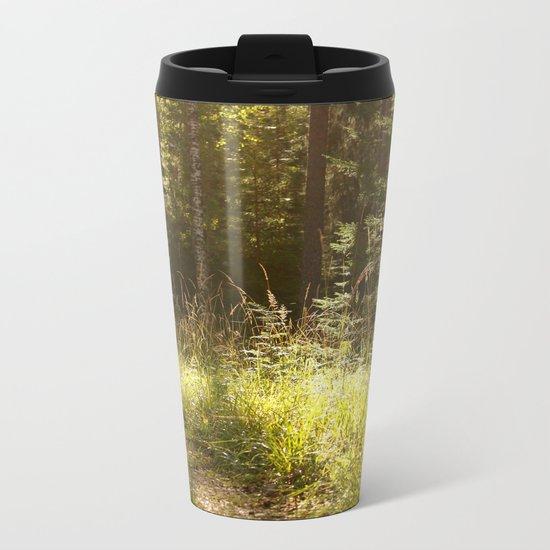Forest Path Metal Travel Mug