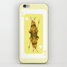 House of Cards #1 iPhone & iPod Skin
